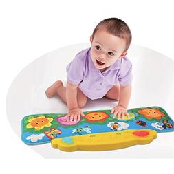 Flower Garden Kick and Touch Musical Baby Piano Mat, for the