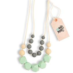 Fox and Finn 'Isabella' Silicone Teething Necklace for Babie