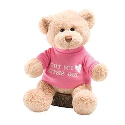 GUND I'm the Big Sister T-Shirt Teddy Bear Stuffed Animal Pl