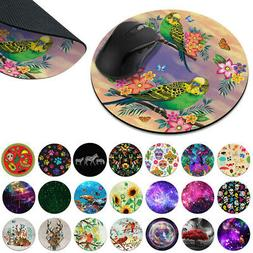Gaming Mouse Mat Pad Non-Slip Circle Mousepad Designs For Co