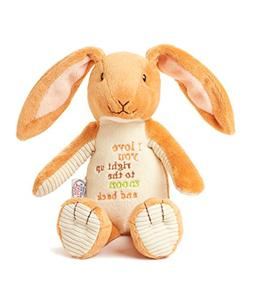 """Guess How Much I Love You Nutbrown Hare Bean Bag Plush, 9"""""""