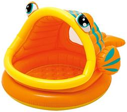 "Intex Lazy Fish Inflatable Baby Pool, 49"" X 43"" X 28"", for A"