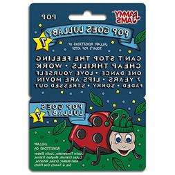 Jammy Jams - Pop Goes Lullaby 7 - Download Card