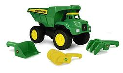 "John Deere 15"" Big Scoop Dump Truck with Sand Tools"