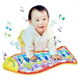 Piano Keyboard Toys for Kids, Step Play Floor Musical Dance