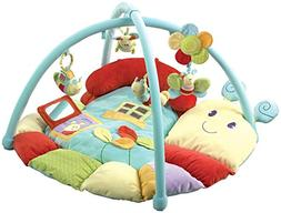 Little Bird Told Me Softly Snail Multi Activity Play Gym Bab