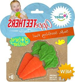 Little Toader Teething Toys, Carrots 3 Carat Appe-Teether