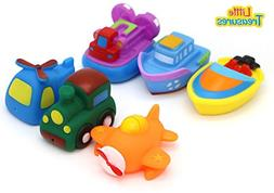 Little Treasures Land Water Air Mania – Baby bath toy set