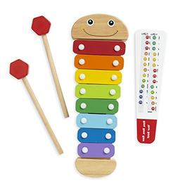 Melissa & Doug Caterpillar Xylophone Musical Toy With Wooden