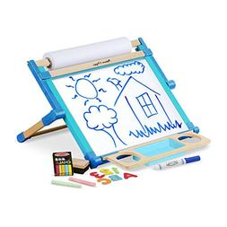 Melissa & Doug Deluxe Double-Sided Tabletop Easel, Arts & Cr