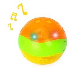 Musical Light-Up Interactive Baby Clutch Rattle Sparkle Ball