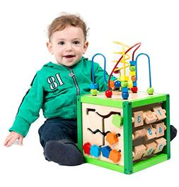 My First Learning Bead Maze Cube Activity Center by Kids Des