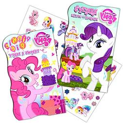 My Little Pony Board Books Set -- 2 Books with MLP Stickers
