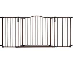 """North States 72"""" Deluxe Décor Baby Gate: Provides safety in"""