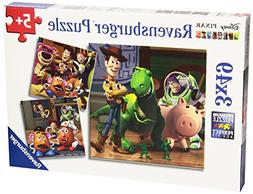 Ravensburger Disney Pixar: Woody and Rex  Puzzles in a Box