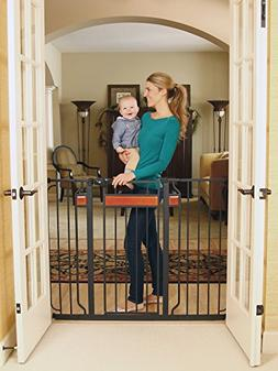 Regalo Home Accents Extra Tall and Wide Walk Thru Baby Gate,