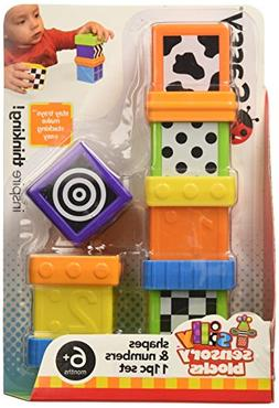 Sassy Block Set, Shapes and Numbers