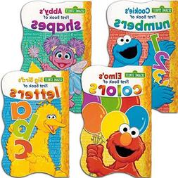 Sesame Street First Board Books - Set of Four