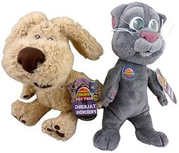 "Set of 2 - 10"" Talking Friends Phone App Soft Toys - Ben Dog"