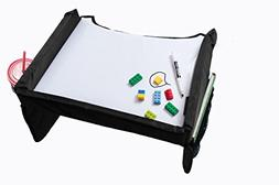 Star Kids Snack & Play Travel Tray 2.0, Black