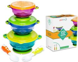 BEST SUCTION BABY BOWLS FOR TODDLERS-Toddler Bowls Baby Feed