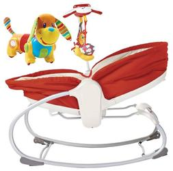 Tiny Love 3 in 1 Rocker Napper with Follow Me Activity Toy,