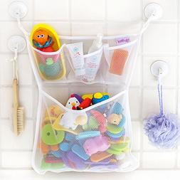 Bath Toy Organizer -The Original Tub Cubby - Large 14x20""