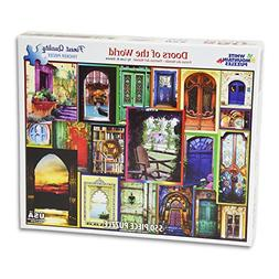 White Mountain Puzzles Doors of the World - 550 Piece Jigsaw
