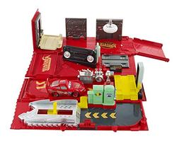 Cars Action Drivers Mack Playset, 16.00 x 3.62 x 10.00 Inche