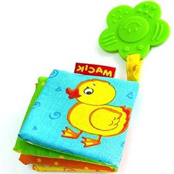 MACIK Baby Activity Book and Teething Toys - Infant developm