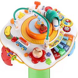 Baby Activity Standing Play Table, Infant Toys, Electronic M