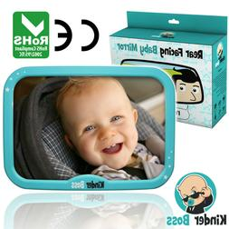 Adjustable Back Seat Safety Mirror for Baby Car Mirror For N