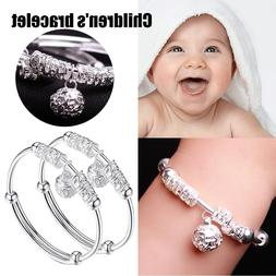 Adjustable <font><b>Baby</b></font> Children 925 Sliver Bell