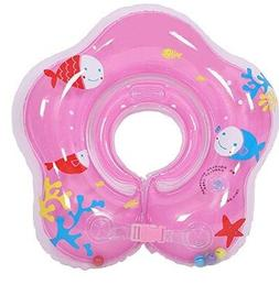 Infant baby Adjustable Inflatable Swimming Bath Ring Securit