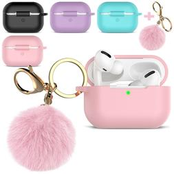 For AirPods Pro 3 Silicone Charging Case Cute Cover Skin wit