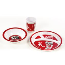 BSI Alabama Crimson Tide Kid's 3 Pc. Dish Set