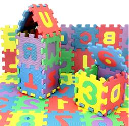 Alphabet Letters Numbers 3d Puzzle For Kids Educational Toys