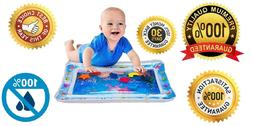 Amazing Kids Baby Tummy Time Water Mat Fun Play Center For B