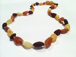 Baltic Amber Teething Necklace for Babies  - Multi Cherry Co