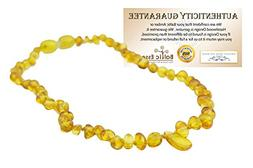 Baltic Amber Teething Necklace for Babies   - Baby, Infant,