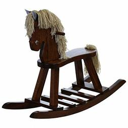 Amish Made Wooden Rocking horse for toddlers and kids Nurser