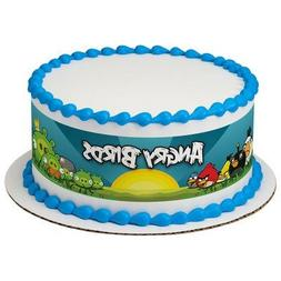 Angry Birds Cake Strips Licensed Edible Cake Topper #7497