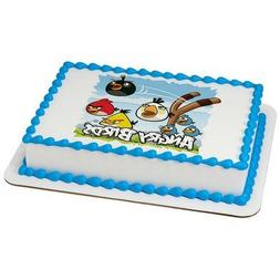 Angry Birds Licensed Edible Cake Topper #7496 by DecoPac