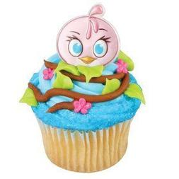 Angry Birds The Movie Stella Cupcake Rings by DecoPac