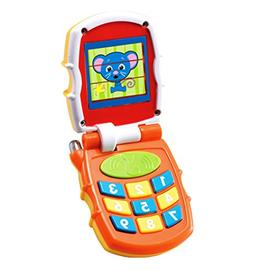 Playfulution Animal Baby Musical Mobile Phone Toy with Flash