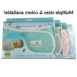 Anna & Eve Baby Swaddle Strap Adjustable Arms Only Wrap for