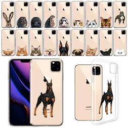 "For Apple iPhone 11 Pro Max 6.5"" 2019 Animal Design Clear TP"