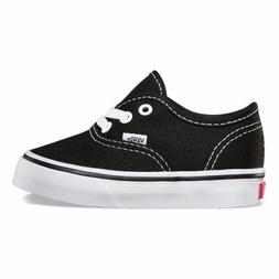 VANS AUTHENTIC INFANT SIZE SHOES FOR TODDLERS BLACK WHITE VN