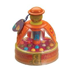 B. toys Poppitoppy Ball Popper Toy Tumble Top Spinning Toys