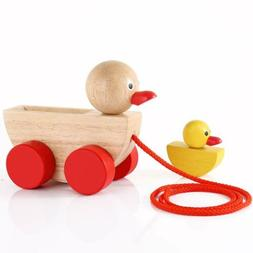 Babe Rock Baby Toys for 1 2 3 Year Old Gifts Wooden Ducks Pu